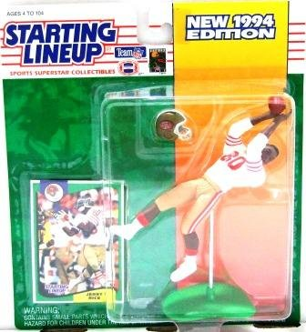 1994 - Jerry Rice - Action Figures - Starting Lineups - Football - 49er's