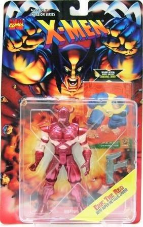 1995 - Eric The Red - Action Figures - Toy Biz - Marvel Comics - X-Men - Invasion Series