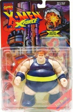 1995 - The Blob - Action Figures - Toy Biz - Marvel Comics - X-Men - X-Force
