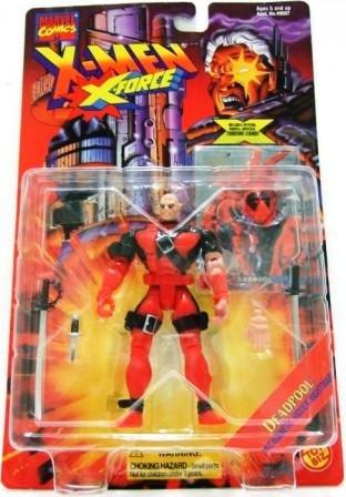 1995 - Deadpool - Action Figures - Toy Biz -  Marvel Comics - X-Men - X-Force