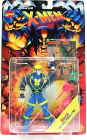 1995 - Havok - Action Figures - Toy Biz - Marvel Comics - X-Men - Invasion Series