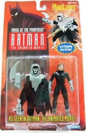 1993 - Phantasm - Action Figures - Kenner - Batman - The Animated Movie - Mask of the Phantasm
