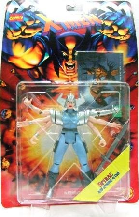 1995 - Spiral - Action Figures - Toy Biz - Marvel Comics - X-Men - Invasion Series