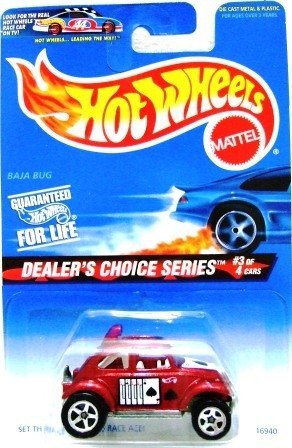 1997 - Baja Bug - Hot Wheels - Dealer's Choice Series - Collector #567