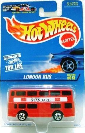 1996 - London Bus - Hot Wheels - Collector #613