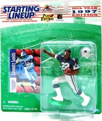 1997 -  Emmitt Smith - Action Figures - Starting Lineups - Football - Cowboys