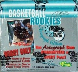 1995 - Classic - Basketball Rookies - Autographed - Sportscards