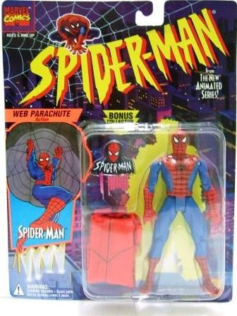 1994 - Spider-Man - Toy Action Figures - Toy Biz - Marvel Comics - The New Animated Series