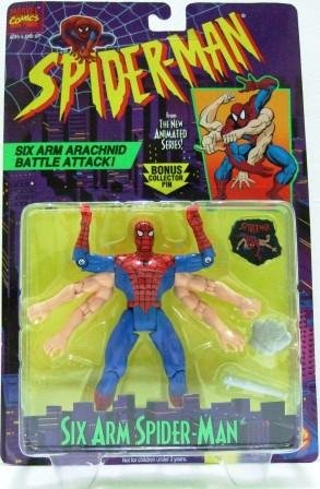 1994 - Spider-Man - Toy Action Figures - Toy Biz - Marvel - The New Animated Series