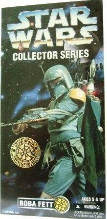 1996 - Boba Fett - Star Wars - 12 Inch - Collectors Series - Rebel Alliance - Toy Action Figure