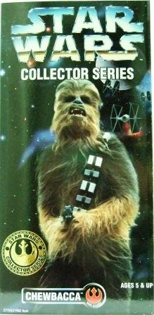 1996 - Star Wars - 12 Inch Collectors Series - Chewbacca - Rare 1996 Box - Toy Action Figure