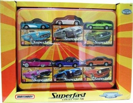 2005 - Matchbox - Superfast - Collector Tin - Exclusive Decos