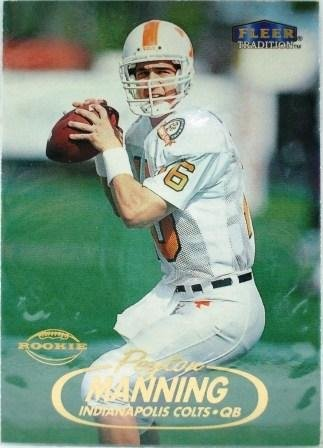 1998 - Peyton Manning - Fleer - Tradition - Rookie Card #235
