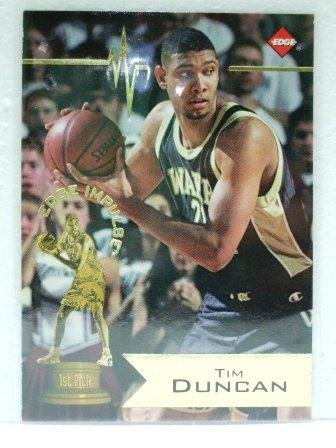 1997/98 - Tim Duncan - Collector's Edge - Edge Impulse - San Antonio Spurs - Rookie Card #1