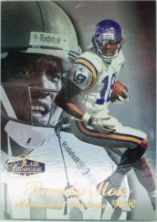 1998 - Rand Moss - Fleer - Flair Showcase - Rookie Card