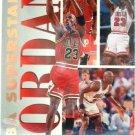 1994 - Michael Jordan - Fleer - NBA SUPERSTARS - #7