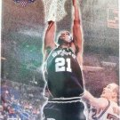 1997/98 - Tim Duncan - Topps Stadium Club - NBA Basketball - San Antonio Spurs - Rookie Card #201