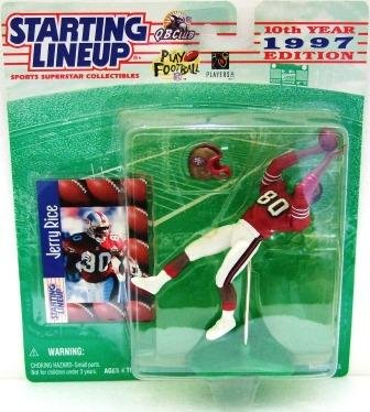 1997 - Jerry Rice - Action Figures - Starting Lineups - Football - 49er's