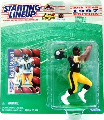 1997 - Kordell Stewart - Action Figures - Starting Lineups - Football - Steelers