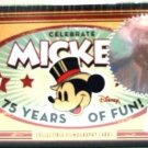 Disney - Celebrates - 75 Years Of Mickey Mouse - Collectible Filmography Cards