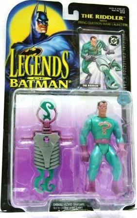 1994 - The Riddler - DC Comics - Kenner - Legends of Batman - Torn Package