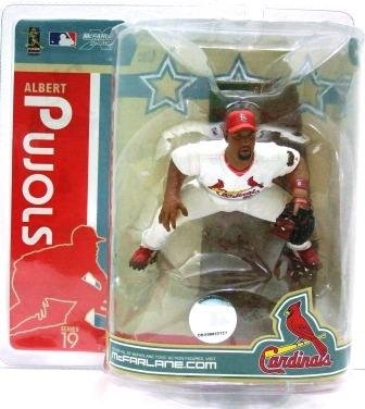 2007 - Albert Pujols - Sports Action Figure - McFarlane's - Cardinals - Baseball