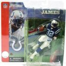2001 - Edgerrin James - Sports Action Figure - McFarlane's - Football - Colts