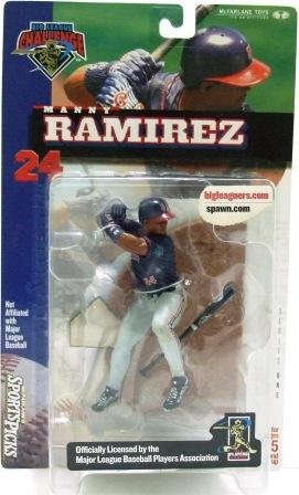 2000 - Manny Ramirez - Sports Action Figure - McFarlane's - Indians - Baseball