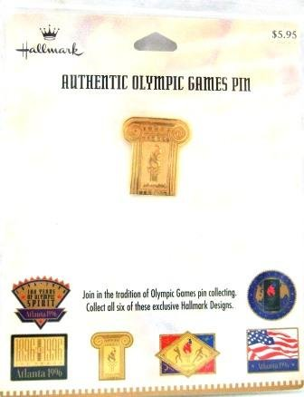 1896-1996 - Centennial - Hallmark - Atlanta - Olympic Games Pin - #3
