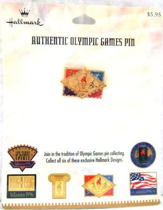 1896-1996 - Centennial - Hallmark - Atlanta - Olympic Games Pin - #4