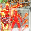 1992 - Human Torch - Action Figures - Toy Biz - Marvel Super Heroes - Fireball Flinging Action