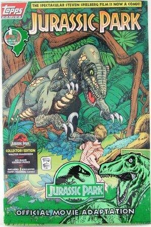 1993 - Topps Comics - Jurassic Park - Special Collector's Edition - Parts 1 thru 4 - Comic Books