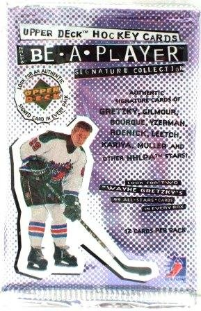 1994/95 - Upper Deck - Be - A - Player -  Hockey  - Sports Card - Packs