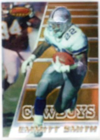 1996 - Emmitt Smith - Topps - Bowmans Best - Card #1