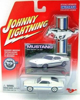 2005 - 1969 Shelby GT 350  - Johnny Lightning - 40th Anniversary Edition - Die-cast Metal Cars