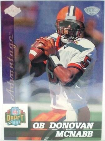 1999 - Donovan McNabb - Collector's Edge Advantage - Rookie Card #179