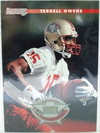 1996 - Terrell Owens - Donruss - Rookie Card #237