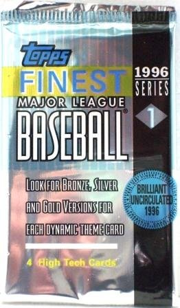 1996 Topps Finest Baseball (Series 1 ) Pack