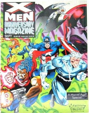 1993 - A Marvel Age Special - X-Men Anniversary - Vol. 1, No. 1 - Magazine