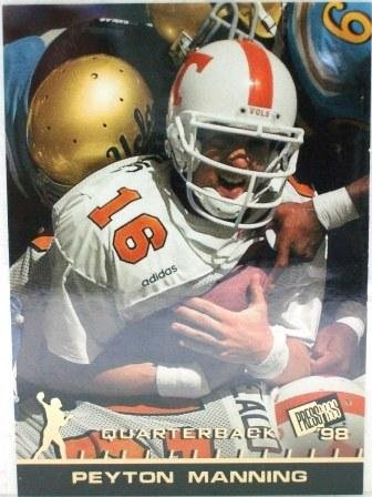 1998 - Peyton Manning - Press Pass - Rookie Card # 1