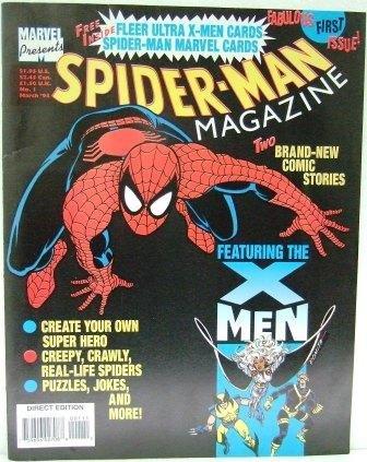 Marvel - Spider-Man Magazine - Vol. 1, No. 1 March 1994