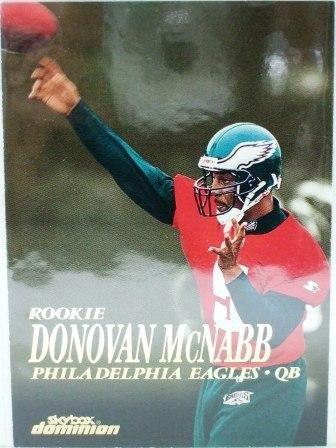 1999 - Donovan McNabb - Skybox Dominion - Rookie Card #202
