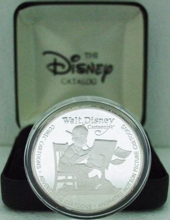 Walt Disney's 100th Year Celebration  Silver Coin