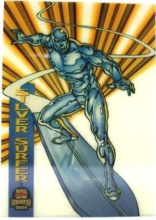 1994 - Marvel Cards - Universe - Silver Surfer - Insert Card - Acetate #5 of 10