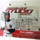 2005 - Donruss - Studio - Baseball - Hobby Box
