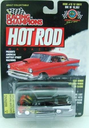 1997 - Racing Champions - Hot Rod Magazine - Drag Racing Series - Issue #13 - '57 Chevy