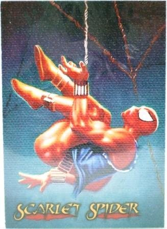 1996 - Fleer/SkyBox - Marvel - Spider-Man - Scarlet Spider - Devito - Canvas - #4 of 6