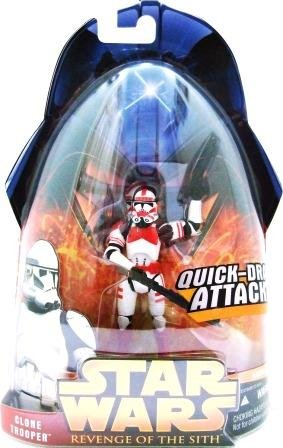 2006 - Clone Trooper #6 -Quick-Draw Attack - Star Wars - Episode III - Revenge of the Sith