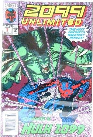 1993 - Marvel - 2099 Unlimited - Vol., No. 1, July, 1993 - Premiere Edition of Hulk 2099