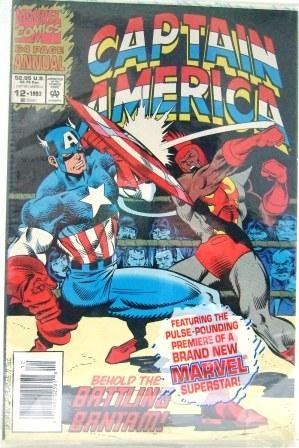 1993 - Marvel - Captain America - Issue #12 - Behold The Battling Bantam - 64 Page Annual